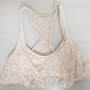 XXI Biking Top ONLY Crochet Size L
